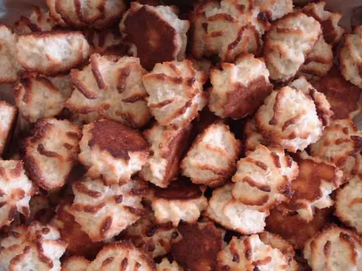 Recette gateau rocher a la noix de coco